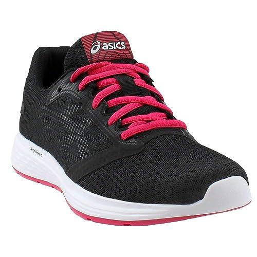 f88d41f2208a ASICS Women s Patriot Black Pixel Pink 12 B US  Amazon.co.uk  Shoes   Bags