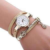 Keattl Clearance Deal Watch,Orologio da polso a catena a mano, cinturino a mano con cinturino in diamanti (Oro)