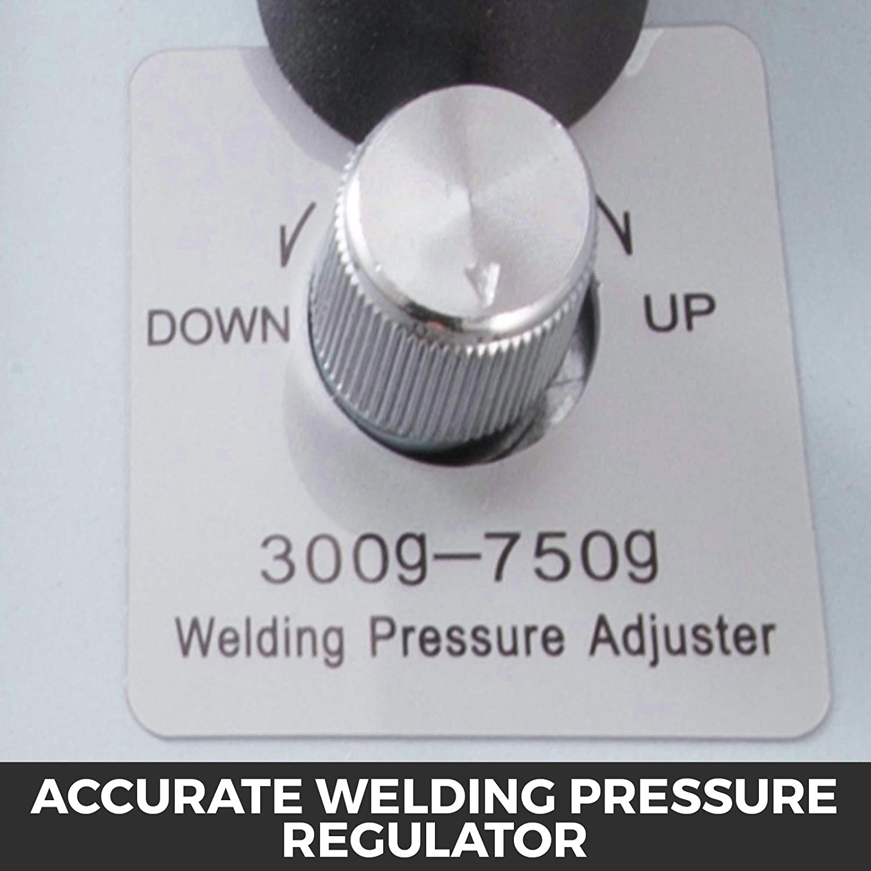 Pulse Spot Welding Machine 50-500 A Soldering Welding Pressure 0.05-0.15MM Pure Nicke for 18650 14500 Lithium Battery 220V Battery Spot Welder FlowerW 787A