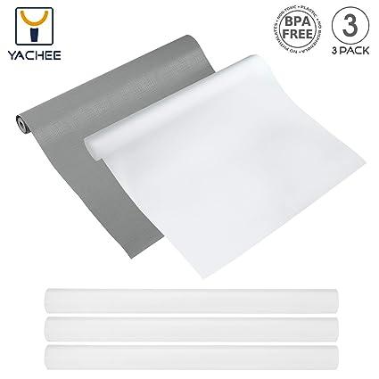 Amazon Com Yachee 3 Rolls Eva Cabinet Liner Non Slip Non Adhesive