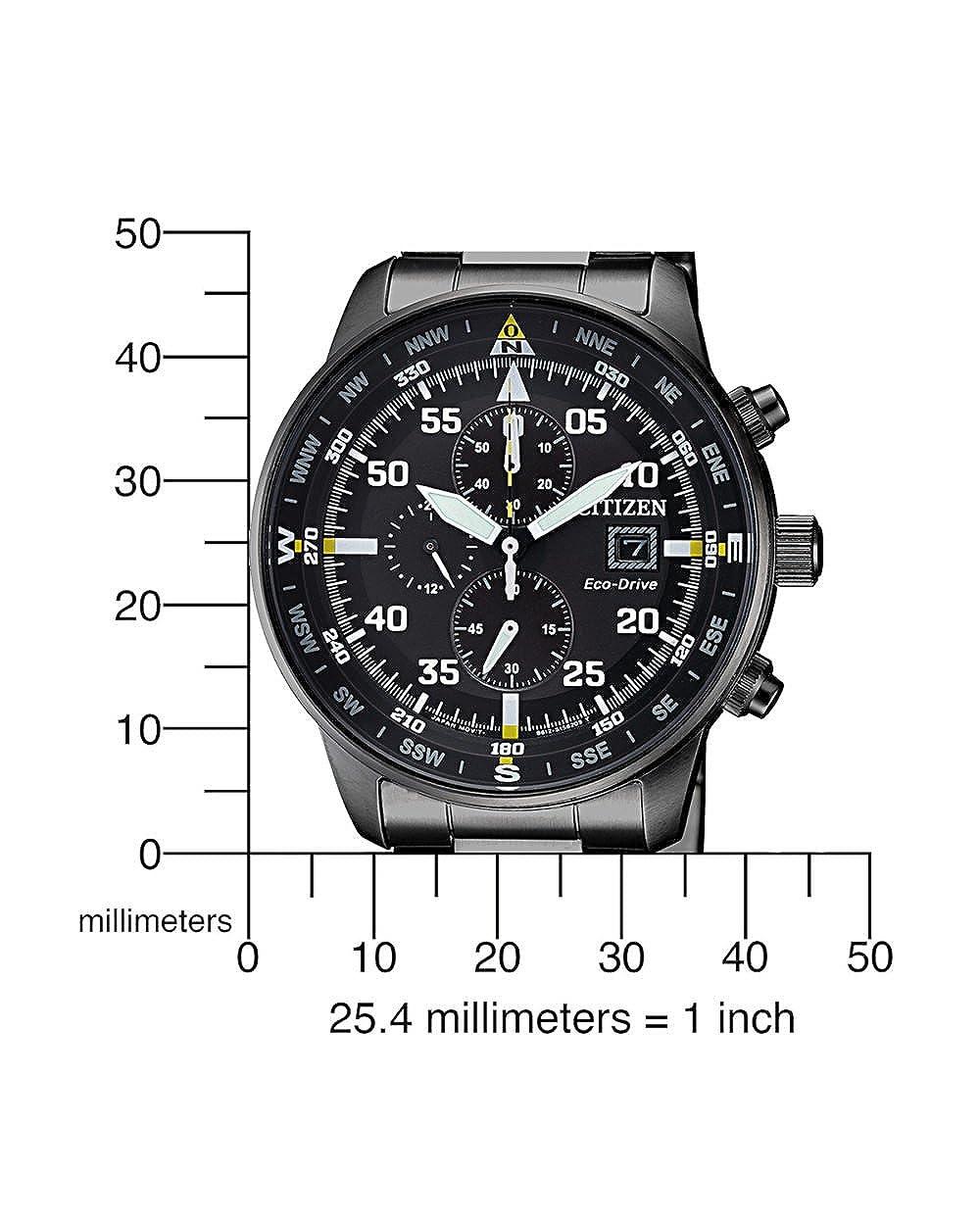 Chronograph Uhr Quarz Armband Edelstahl Citizen Mit Ca0695 Herren 84e QredCBoWx