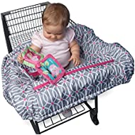 Boppy Shopping Cart and High Chair Cover, Park Gate...