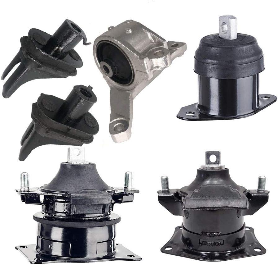 Anchor Front+Rear Trans Engine Mount Kit For 2007-2008 GMC ACADIA V6 3.6L/_LX