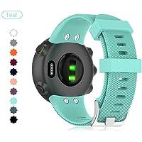 Buwico Horloge Strap Voor Garmin Forerunner 45/Garmin Forerunner 45S, Siliconen Vervanging Horlogeband Sport Fitness…