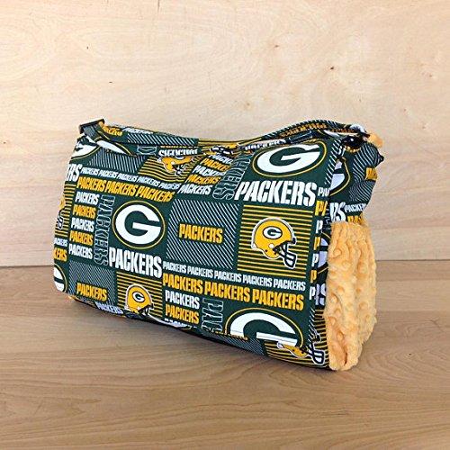 Diaper Bag- Green Bay Packers Style #2 / Yellow (Green Bay Packer Diaper Bag)