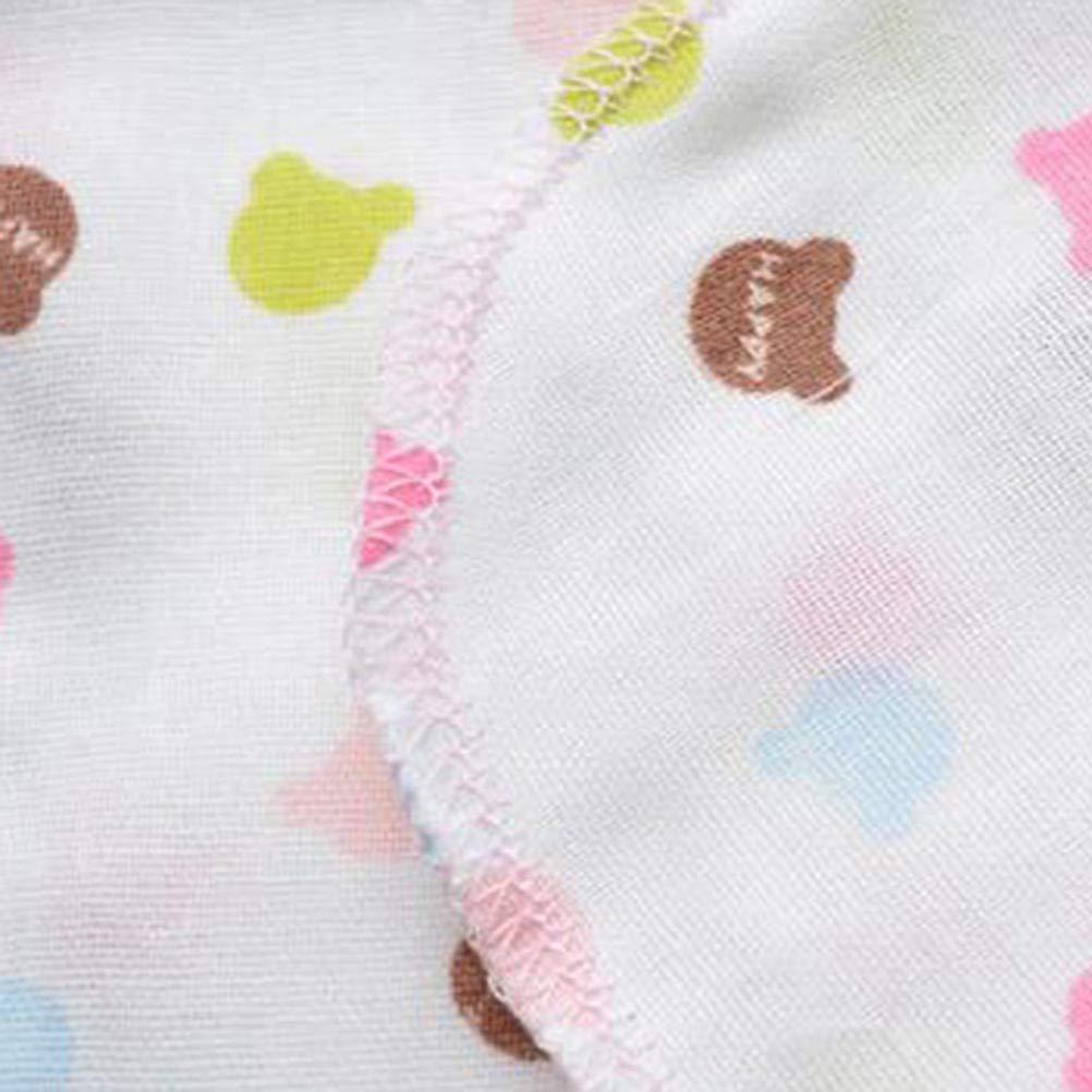 Random Pattern Toyvian 10pcs Baby burp cloths baby feeding bibs towel for kids baby girls