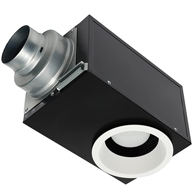 panasonic vent fan with recessed led light