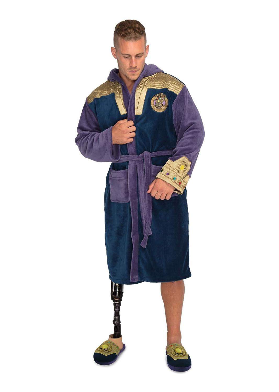 Marvel Thanos Outfit Fleece-Robe für Erwachsene B07K2FFLQB Morgenmntel