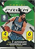 2016 2017 Panini Prizm NBA Basketball Series Factory Sealed Blaster Box of Packs with One Premier JERSEY RELIC or Autographed Card per box!