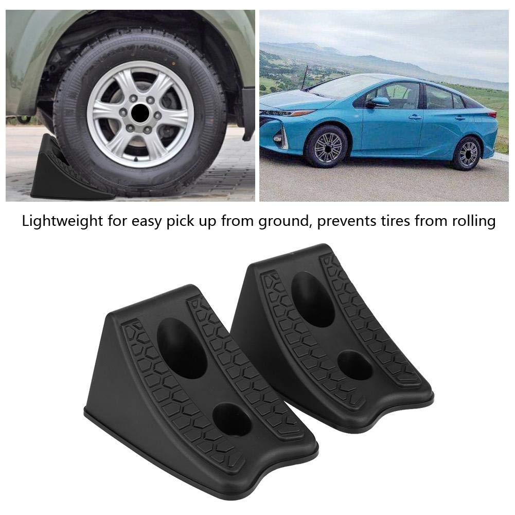 2pcs Calzo de Goma para Ruedas Universal para remolques de automóviles, Camiones u Otros neumáticos de Ruedas de vehículos: Amazon.es: Coche y moto