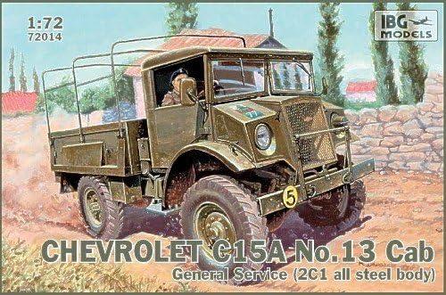 13 Cab General Service # 72014 IBG 1//72 Chevrolet C15A No