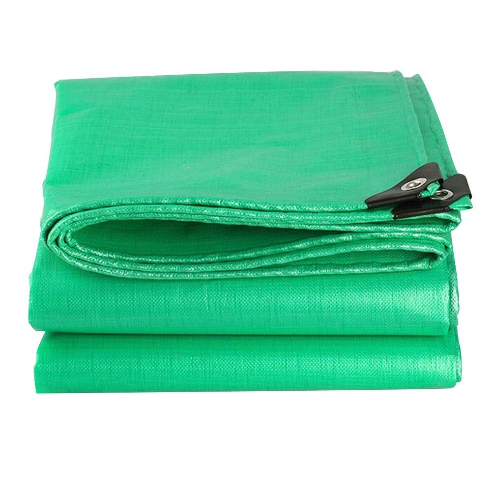 PENGFEI オーニング 防水 雨布 ピクニックマット 園芸 工場 日焼け止め 車 シェード布 断熱材、 緑、 14サイズのオプション ( サイズ さいず : 5 x 6m ) B07BSK25PX 5 x 6m  5 x 6m