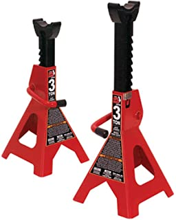 Torin Big Red Steel Jack Stands: SUV / Extended Height, 3 Ton Capacity,