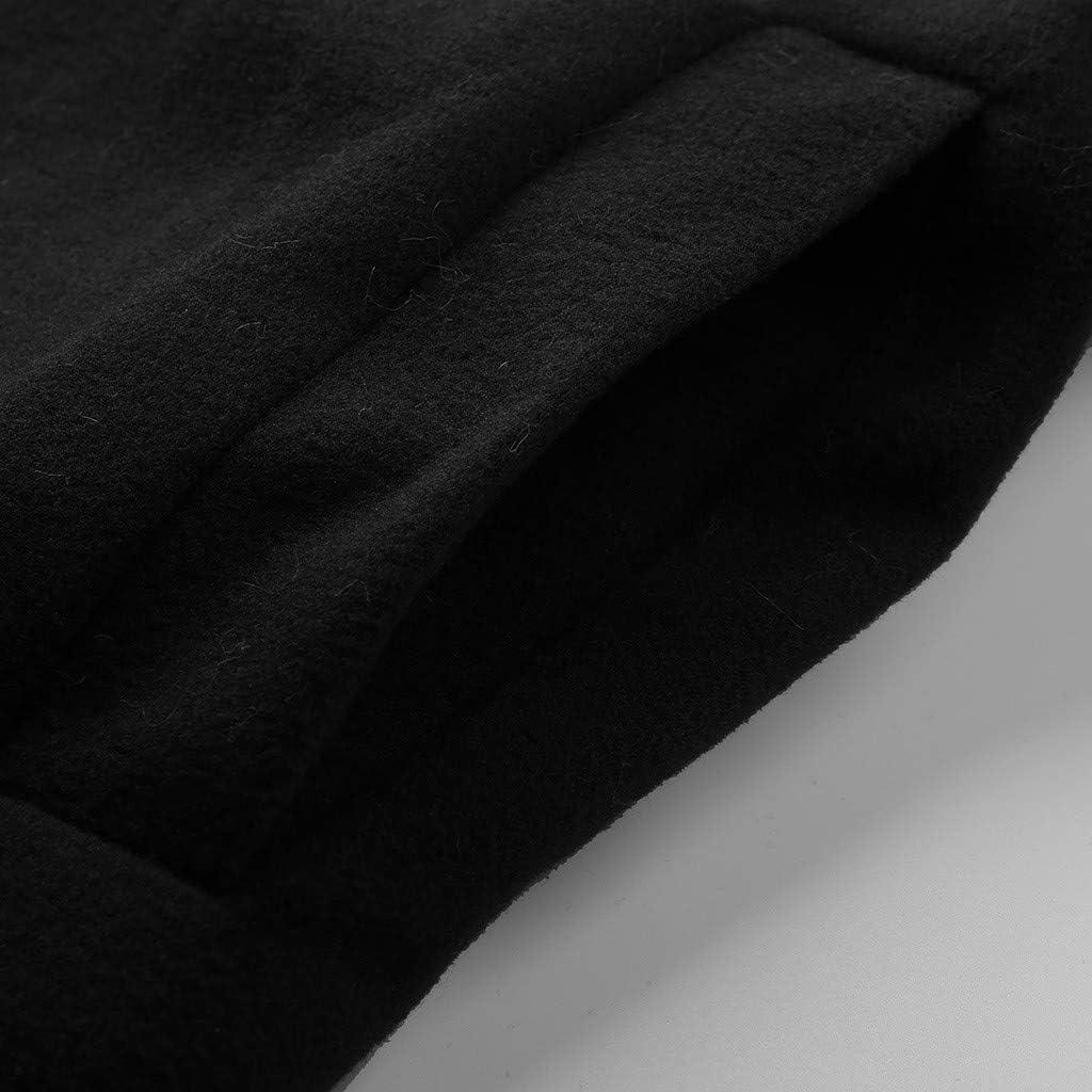 BBestseller Moda Espesar Chaqueta para Mujer Invierno Peludo Calentar Cárdigan Manga Larga Sweatshirt Abrigo de Lana con Cuello Vuelto Outerwear: Amazon.es: Ropa y accesorios