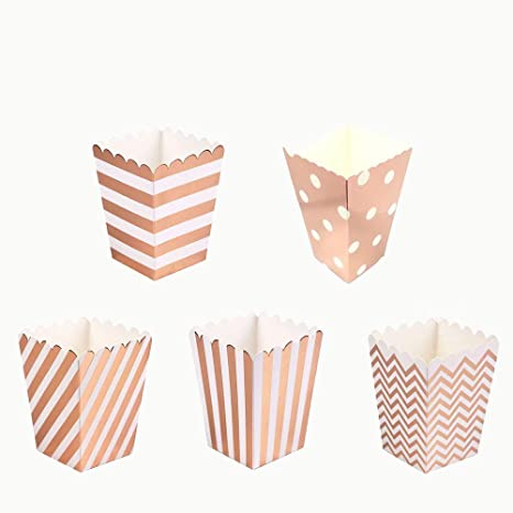 Amazon.com: AimtoHome - Cajas de palomitas de papel para ...