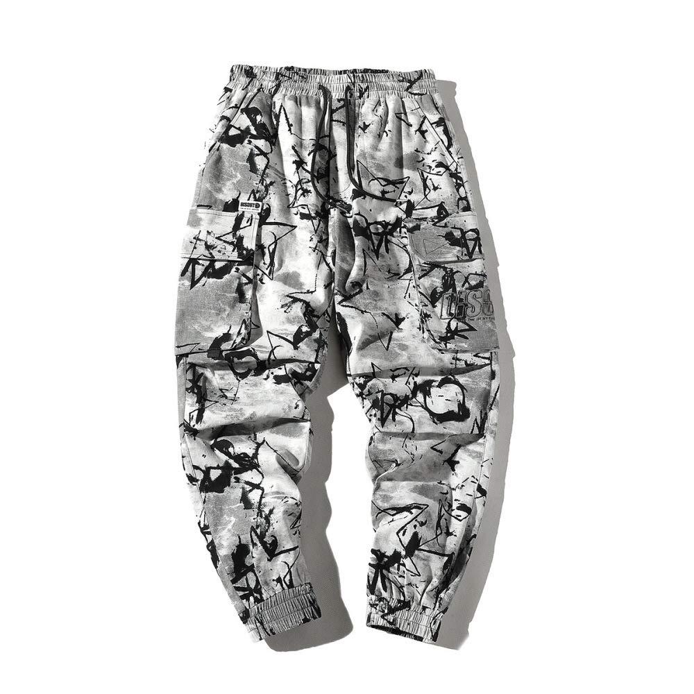 Pantalones de chándal Rectos para Hombres,Pantalones de chándal ...