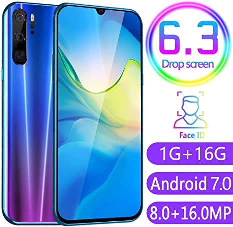 HSKB P80 Pro Smartphone sin Contrato, Quad Core 6,3 Pulgadas, Face ...