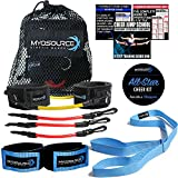 Kinetic Bands All-Star Cheer Kit for Improving Cheerleader Fitness and Performance, Flexibility Stunt Strap, TumblePro X, Cheerleading Workout DVD (User weight is less than 110 lbs or 50 kg)