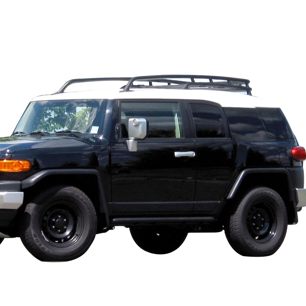 Amazon.com: Roof Rack Fits 2007-2014 Toyota Fj Cruiser | Offroad Type  Aluminum Top Cargo Roof Rack Rail Cross Bar Luggage Carrier by IKON  MOTORSPORTS | 2008 ...