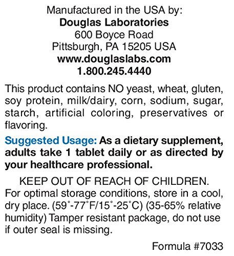 Douglas Laboratories® – Chelated Magnesium – Supports Energy Metabolism, Heart, Skeletal Muscles and Nervous System* – 100 Tablets