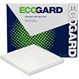 ECOGARD XC10475 Filtro de aire de cabina premium compatible con Nissan Versa 2014-2019, Versa Note 2014-2019, Micra 2015-2016
