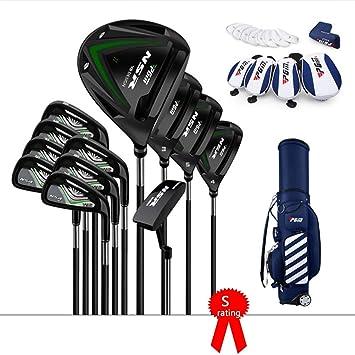 TTHU Paquete De 12 Piezas Club De Golf Negro Juego Golf Club ...