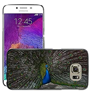 Super Stella Slim PC Hard Case Cover Skin Armor Shell Protection // M00147111 Peacock Bird Feathered // Samsung Galaxy S6 (Not Fits S6 EDGE)