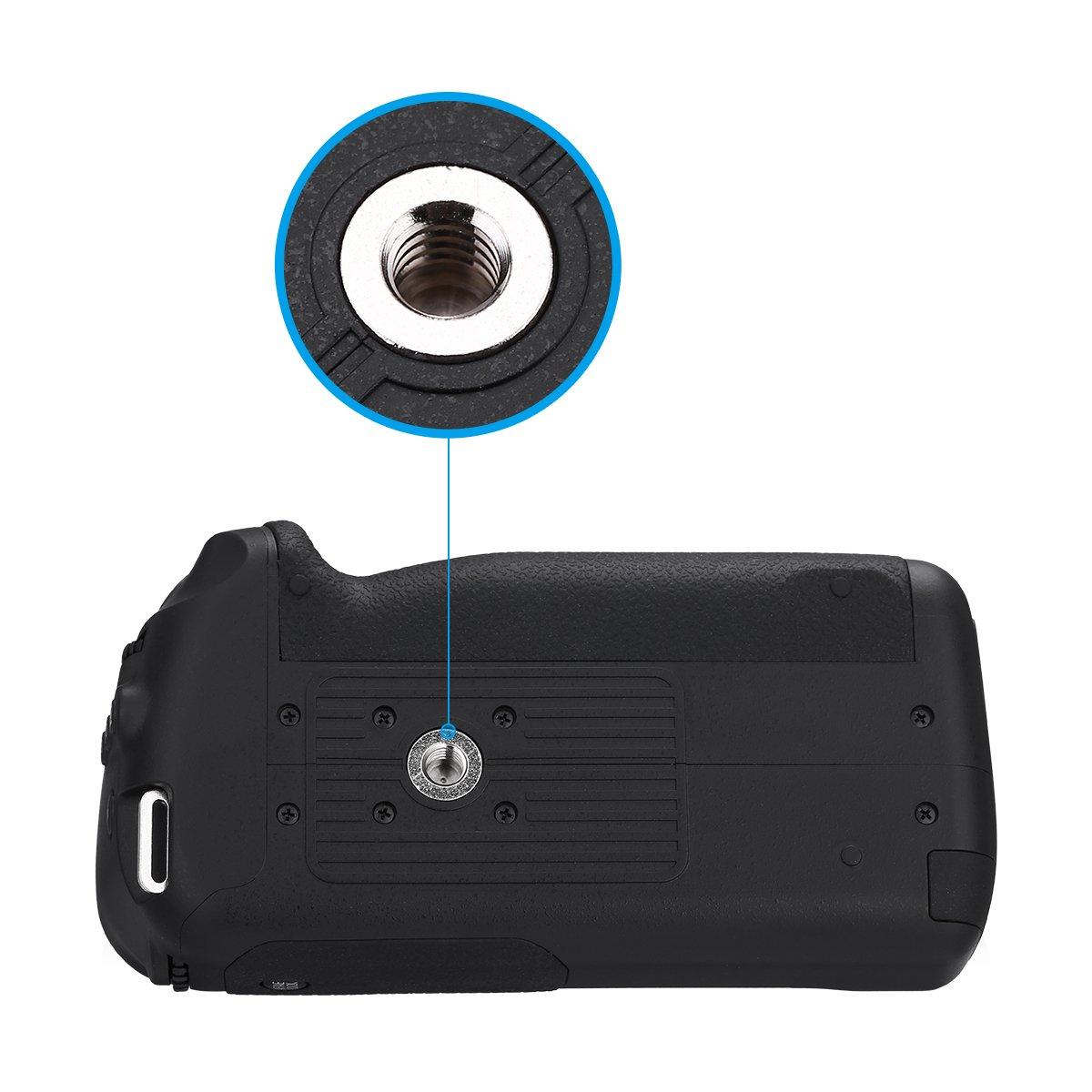 Powerextra Dmw Bggh3 Vertical Battery Grip Replacement Wasabi Blf19 Kit For Panasonic Gh3 Gh4 Gh5 Lumix Digital Slr Camera Photo
