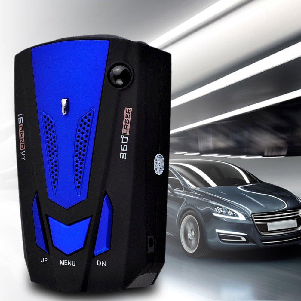 OneMoreT - Detector de radar de seguridad para coche, 360 grados, 16 bandas V7, GPS: Amazon.es: Instrumentos musicales