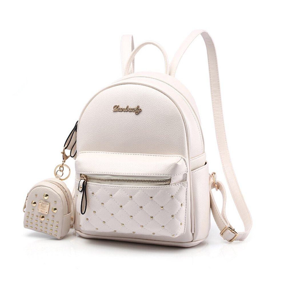 c0482ef673 Cute Small Backpack Mini Purse Casual Daypacks Leather for Teen Girls and  Women   Shops   Clothing