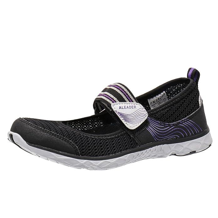 Amazon.com: ALEADER Mary Jane Zapatos de agua para mujer: Shoes
