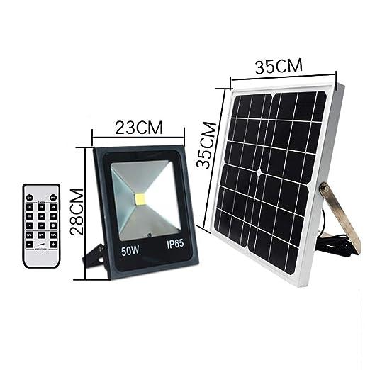 XEX Foco LED Proyector, Luz De Inundación Solar Luz De Pared ...