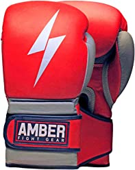 Mehrfarbig Amber Fight Gear Pro Style MMA Grappling Handschuhe XS