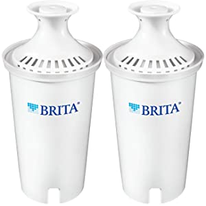 Brita 060258355024 Standard Replacement Water Filter, 2ct