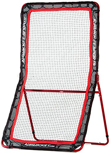 Rukket 4x7ft Baseball and Softball Rebounder Pitch Back Training Screen with