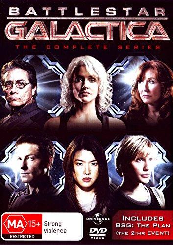 Battlestar Galactica Complete TV Series + The Plan | 26 Discs | NON-USA Format | PAL | Region 4 Import - Australia