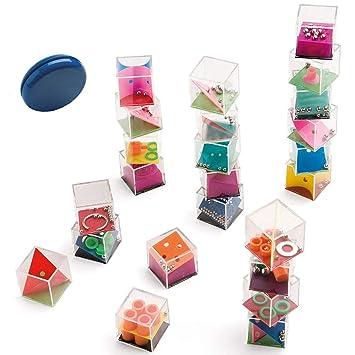 Partituki Pack de 25 Juegos para Niños y Adultos. 24 Juegos de Habilidad y un Yoyo. Ideal para Piñatas como Detalles para Fiestas de Cumpleaños ...