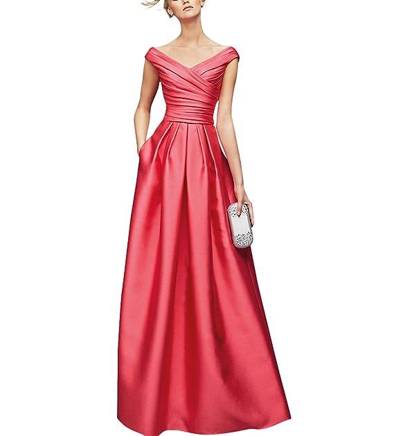 Dream Bride - Vestido - trapecio - para mujer - Korallen 48