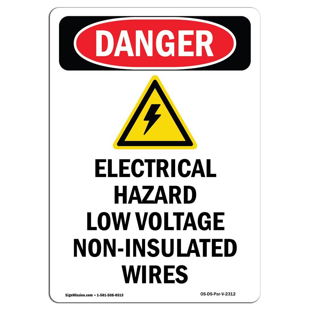 Señal de peligro eléctrico de bajo voltaje, elige de ...