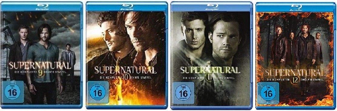 Supernatural Staffel 10 Blu Ray