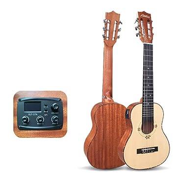 huanle Guitarra de 30 Pulgadas, Guitarra clásica para niños de una ...