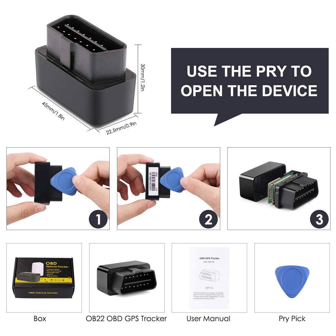 /Micodus Plug in veicolo Tracker GPS location Spy OBD allarme SOS geo-fence OBD2/Tracker Localizzatore ricarica senza Auto OBD GPS Tracker/