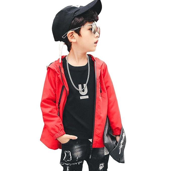 Niño Ropa Abrigo Chaqueta Chico Vestidos Outwear Casual Corto Rompevientos Otoño Ocio Desgaste Exterior Manga Larga