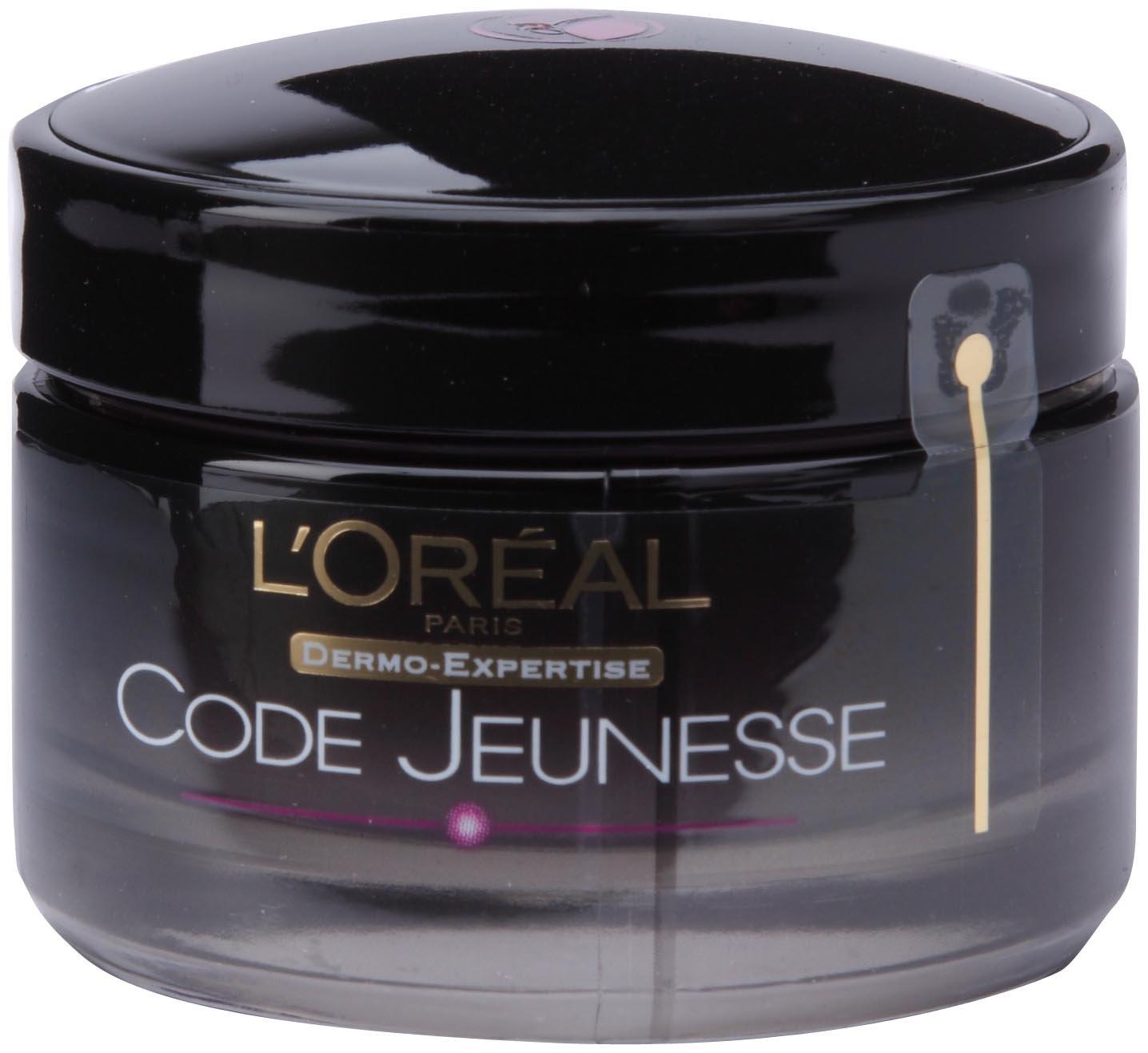 L'Oréal - Soin Récupérateur Nuit Anti-Rides Rajeunissant - Code Jeunesse - 50 ml L'Oréal