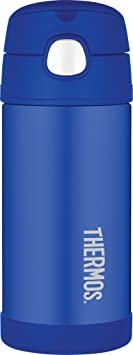 Thermos FUNtainer Straw Bottle, Blue, 355 ml