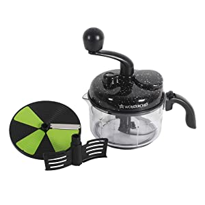 Wonderchef Turbo Dual Speed Food Processor Black