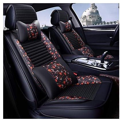 Amazon.com: ADHW Funda de asiento de coche de lujo ...