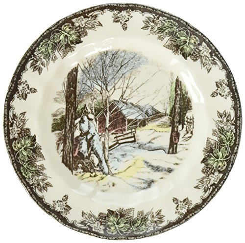 "Johnson Brothers Friendly Village Bread & Butter Plate 6"", 6"", Multicolored"