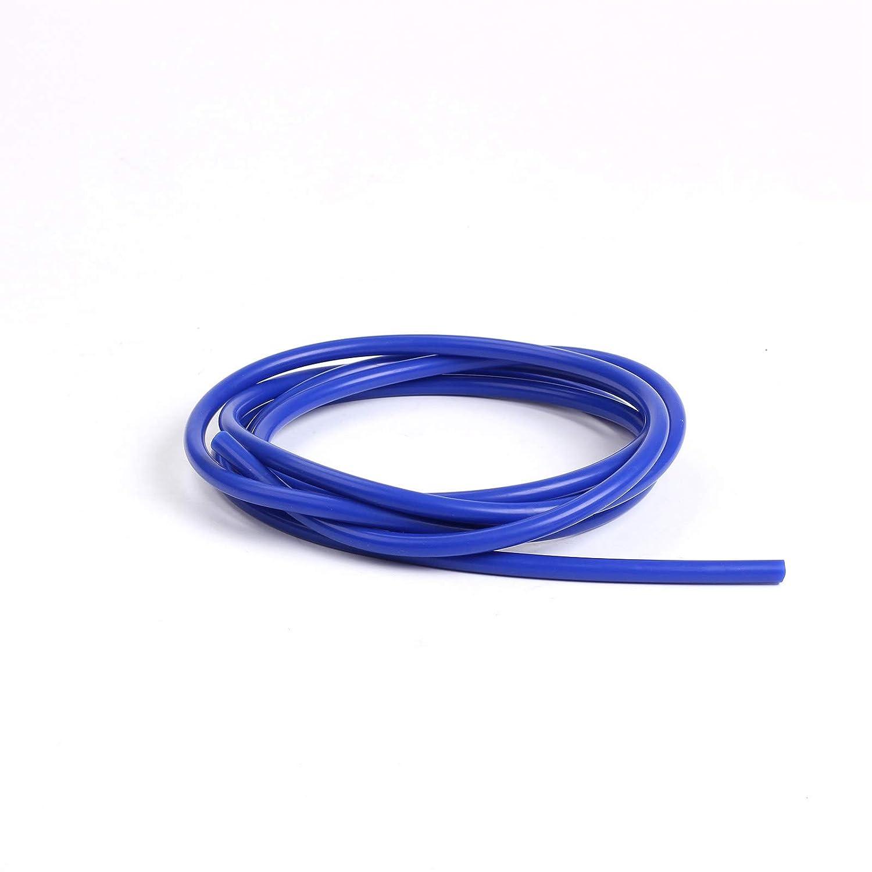 4mm 10mm 14mm Silicone Universale Auto Tubo per Vuoto Tubo Flessibile in Silicone Accessori Auto Blu 5 6mm 8mm Ocamo 1M 3mm 11mm