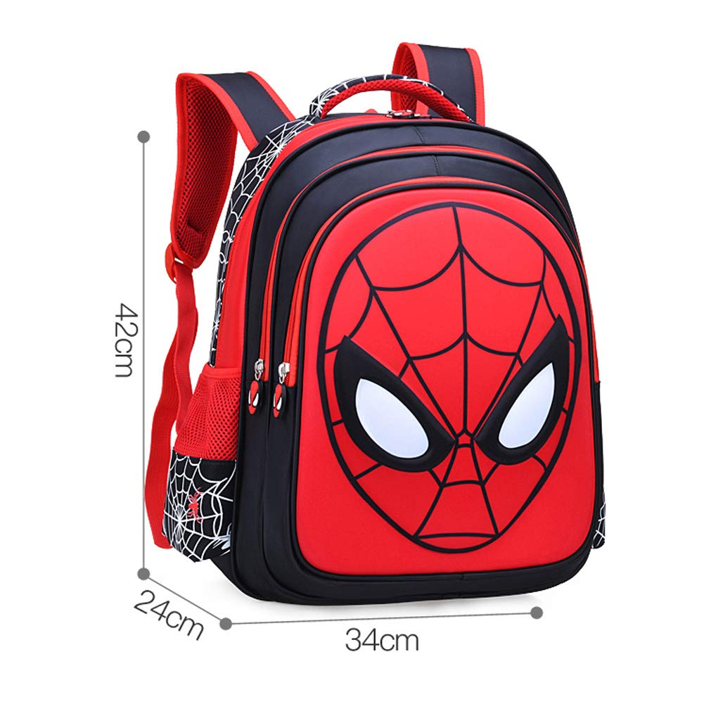 Amazon.com: Niño Impermeable 3D Superhero Bolsa Mochilas ...